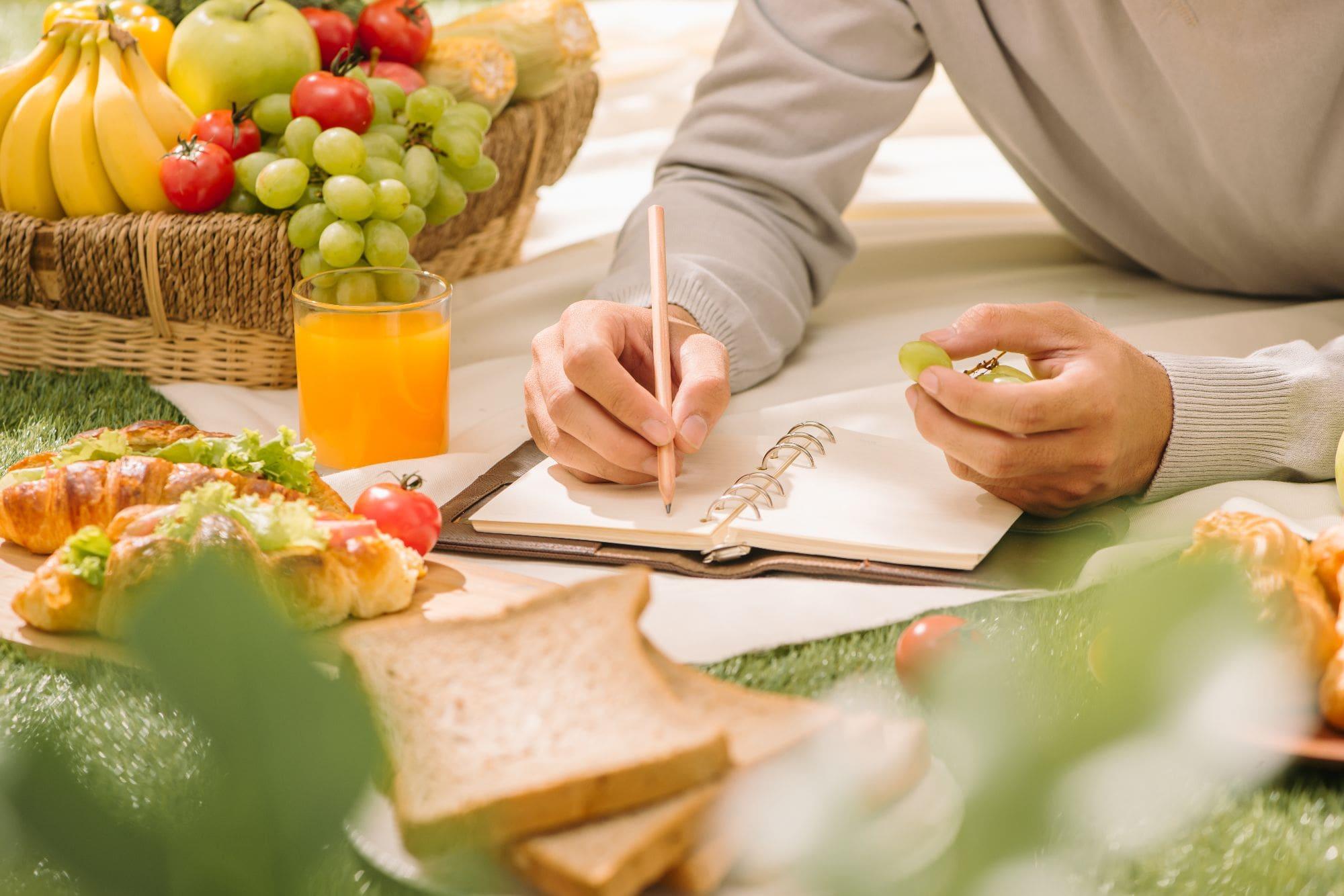 Foto Ernährungstagebuch